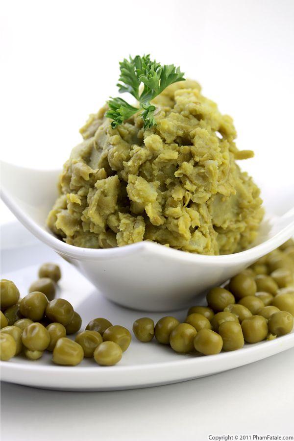 Purée de Petits Pois Recipe (Mashed Peas) Recipe