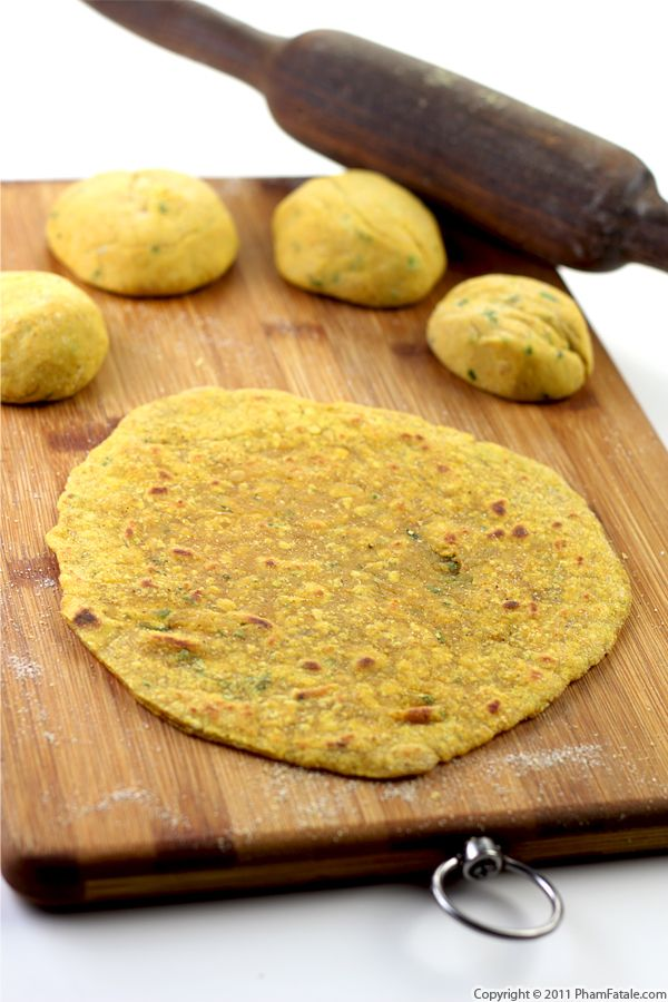 Dal Paratha Recipe (Indian Flat Bread) Recipe