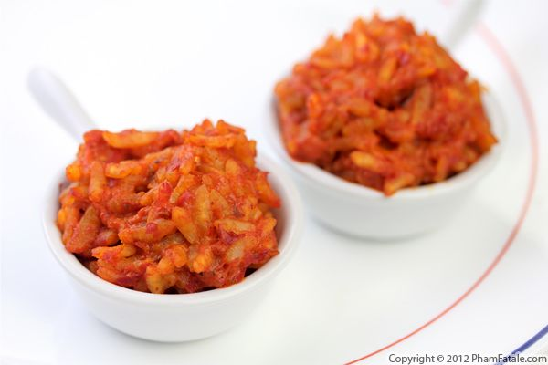 Roasted Red Pepper Risotto (Ajvar Recipe)  Recipe
