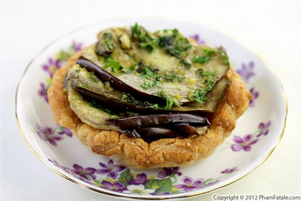 Eggplant Tart Recipe Recipe