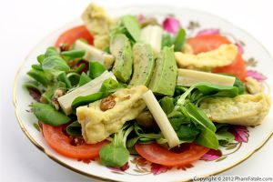 Avocado Tomato Salad (Light Salad Recipe)