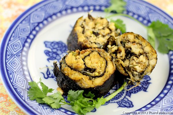 Mock Fish Recipe: Pan Fried Seaweed Tofu Recipe
