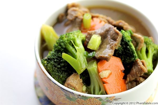 Vietnamese Beef and Broccoli Recipe (Thit Bo Xao) Recipe