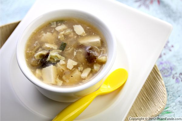 Vegetarian Hot and Sour Soup Recipe Recipe