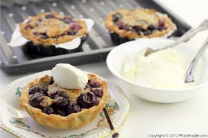 Cherry Almond Tart Recipe