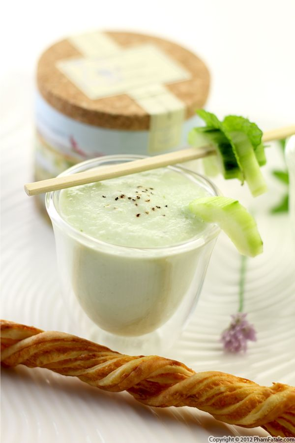 Cucumber Soup Recipe Recipe