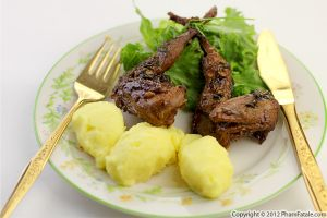 Honey and Mustard Roasted Quail Recipe