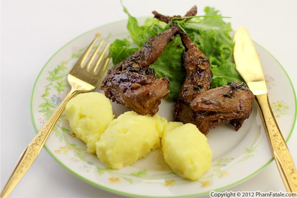 Honey and Mustard Roasted Quail Recipe Recipe
