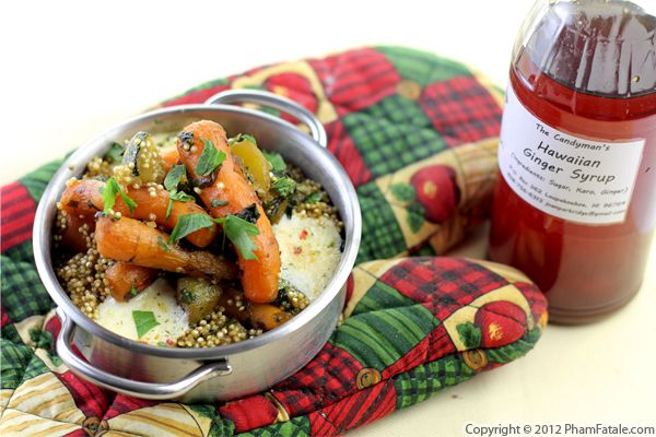 Quinoa with Carrots and Zucchini Recipe