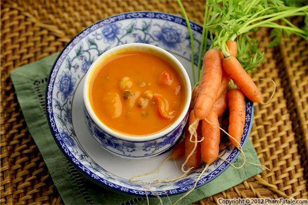 Carrot and Red Bell Pepper Soup Recipe Recipe