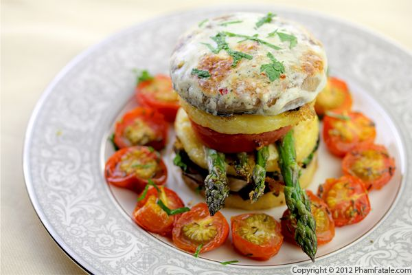 Mushroom Polenta: Savory Napoleon Recipe Recipe