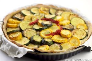 Zucchini Tart with Mascarpone
