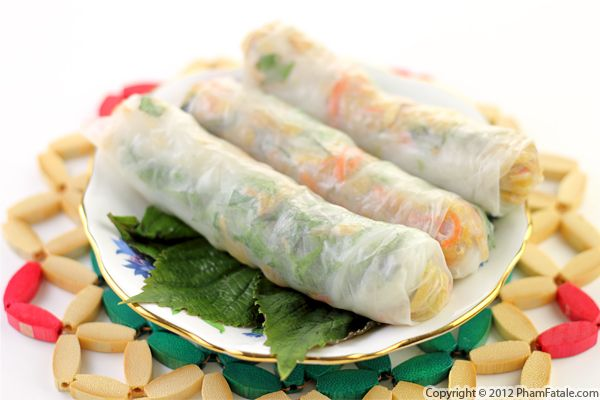 Vegetarian Spring Rolls: Bi Cuon Chay Recipe Recipe