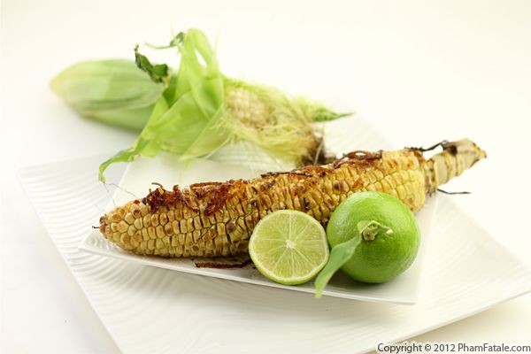 Grilled Corn on the Cob (Chili Lime Corn Recipe) Recipe