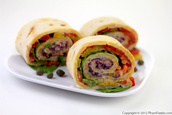 Pinwheel Sandwich Recipe with Picture