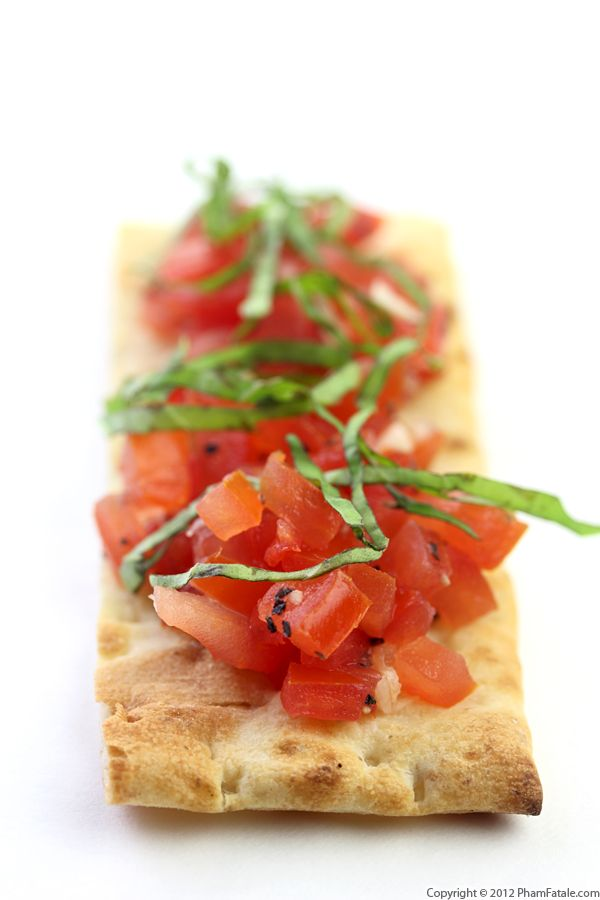 Tomato Bruschetta Recipe with Picture