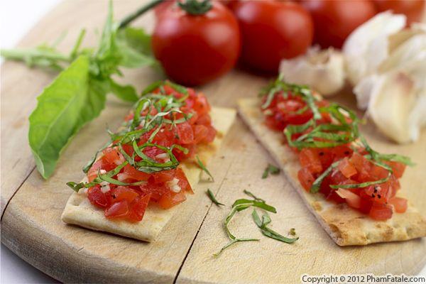 Tomato Bruschetta Recipe Recipe