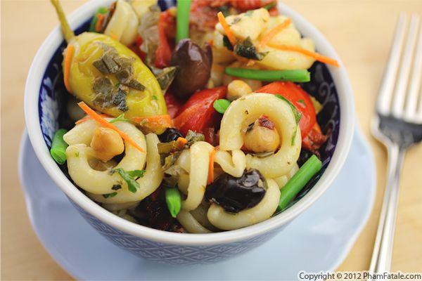 Mediterranean Pasta Salad Recipe Recipe