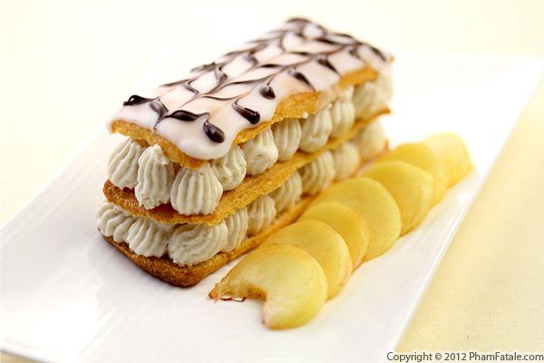Peach Napoleon Pastry Recipe Recipe