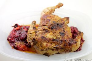 Plum Chicken (Roasted Chicken Recipe)