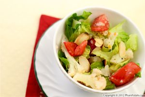 Cauliflower Tomato Salad Recipe