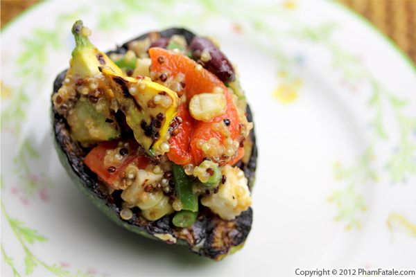 Quinoa Stuffed Zucchini Recipe Recipe