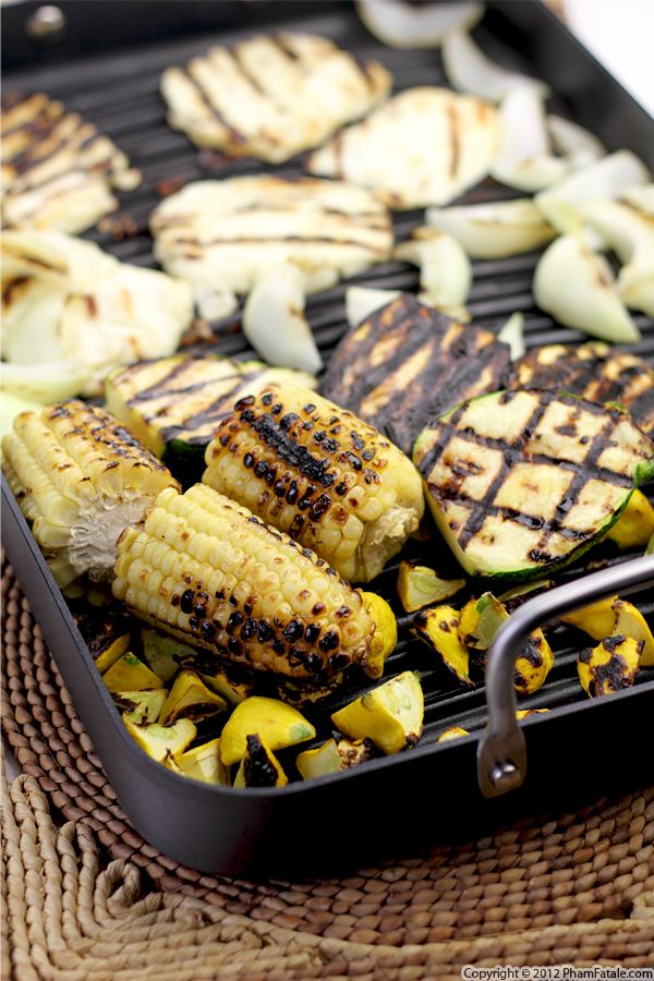 Grilled Zucchini Recipe with Picture