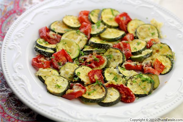 Vegetable Tian Recipe: Zucchini and Tomato Casserole Recipe