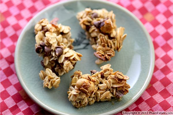 Homemade Granola Bar Recipe with Picture