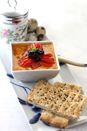 Gazpacho Soup (Chilled Tomato Soup Recipe)