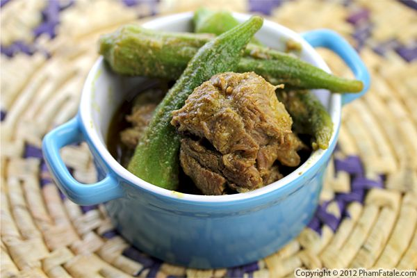 Indian Stew with Okra Recipe