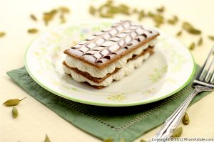 Gluten Free Cardamom and Chocolate Napoleon Pastry Recipe
