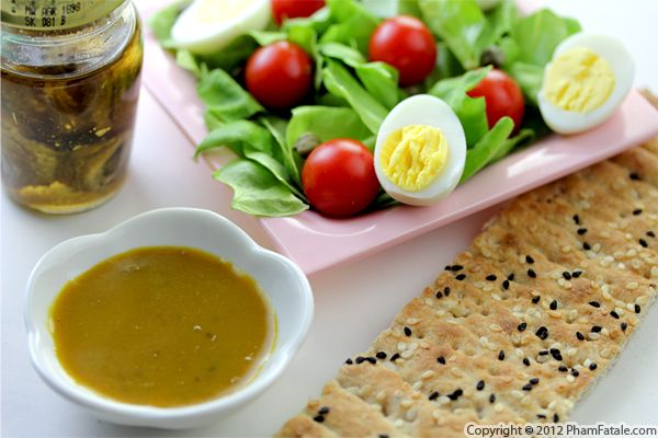 Anchovy Vinaigrette Recipe Recipe