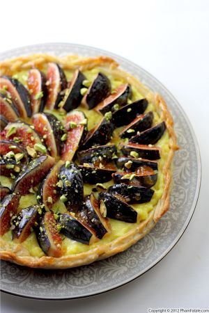 Saffron Fig Tart Recipe