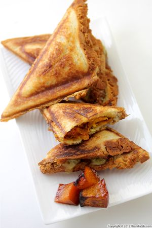 Butternut Squash Pocket Sandwich Recipe