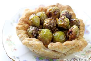 Roasted Brussels Sprout Tart Recipe