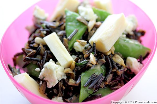 Wild Rice and Hearts of Palm Salad Recipe Recipe