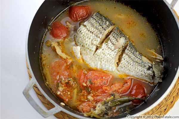 Fumet de Poisson (Fish Stock Recipe) Recipe