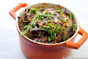 Cepe Mushroom Gratin Recipe