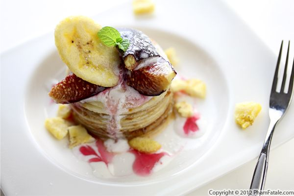 Banana and Fig Crepe Cake Recipe Recipe