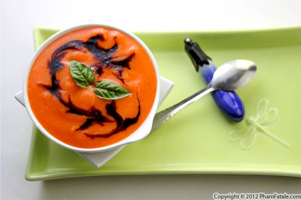 Roasted Bell Pepper Soup Recipe Recipe