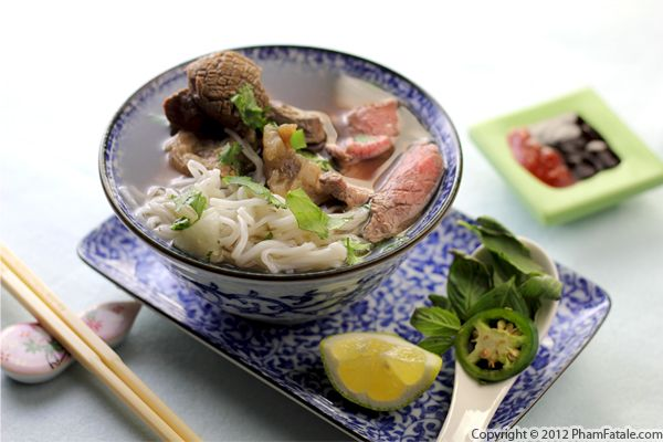 Comfort Food: Bowls of Rice Noodle Soup Recipe