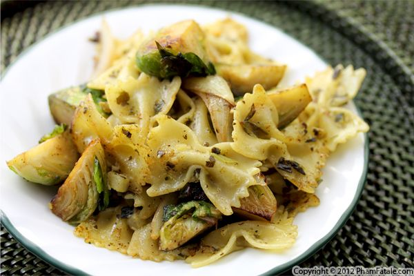 Brussels Sprout Pasta Recipe Recipe