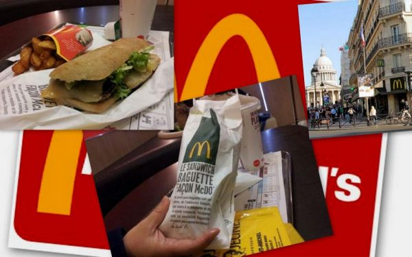 A McDonald's in Paris (Le McDo Baguette Sandwich) Recipe