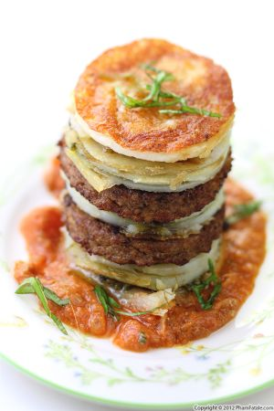 Meat and Potato Napoleon Recipe