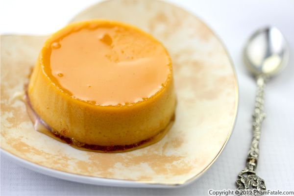 Pumpkin Creme Caramel Recipe Recipe