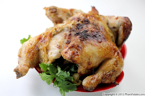 Date Chicken with Olives Recipe