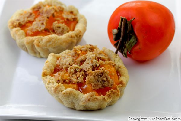 Persimmon Pie Recipe with Picture