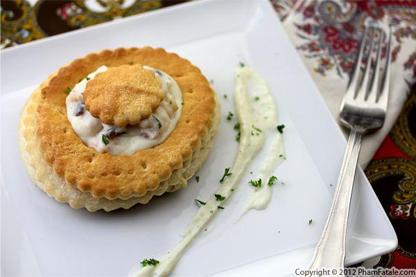 Bouchee a la Reine Recipe (Vol Au Vent Pastry Recipe) Recipe