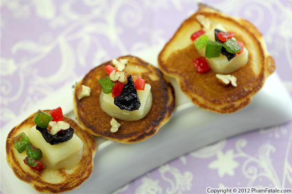 Holiday Canape Appetizers Recipe